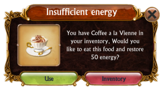 Insufficient Energy