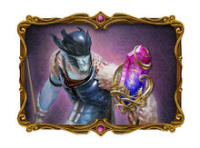 Crystal of Enigmas Talisman and Living Legends Picture