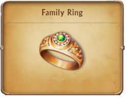Special Access Item Family Ring