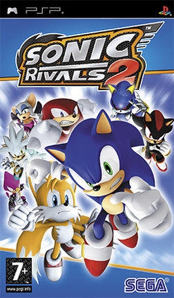 Sonic Rivals 2 cover