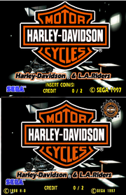 Harley-Davidson & L.A.Riders versions