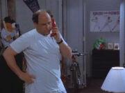 George on Phone