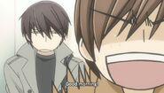 Ritsu greets Takano ep07