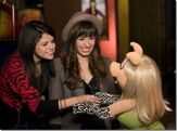 Demi & Selena with Miss Piggy