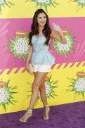 Selena at the 2013 KCAs