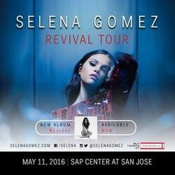 Revival Tour Poster