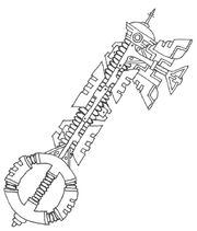 Sci fi keyblade by amaquieria-d33zsx1