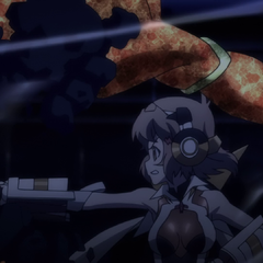 Hibiki fighting
