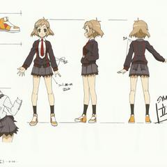 Hibiki's School Uniform