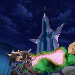 Tsubasa's attack for Noise