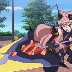 Season 3 Gungnir with Armed Gear.