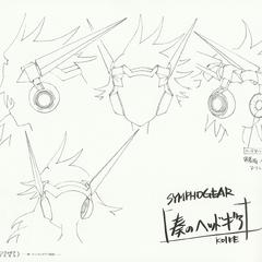 Kanade's Gungnir Headset Design Sheet