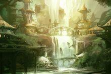 Kyonin elf town