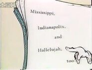 Mississippi indianapolis and hallelujah too