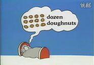 David donald doo dreamed a dozen doughnuts
