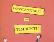 Constantinople and timbuktu