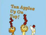 Ten Apples Up on Top (2)