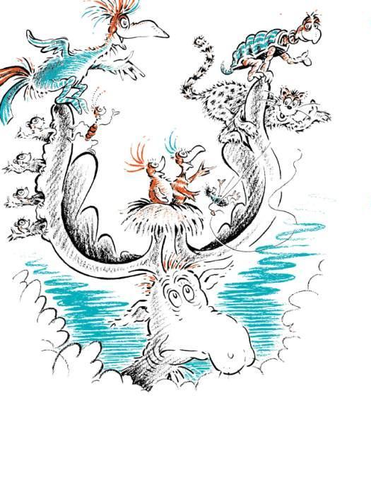 Image - This moose runs a traveling hotel!.jpg | Dr. Seuss ... I Am Sam Dr Seuss