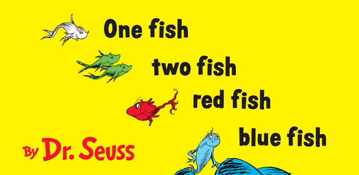 Image - One fish Two Fish Red Fish Blue Fish Header.png | Dr ...
