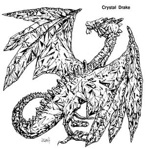Crystal drake