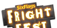 List of Fright Fest Attractions and Events