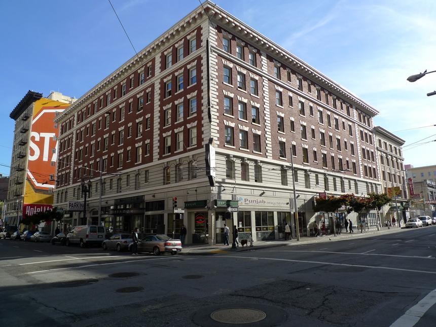 Ambassador Hotel San Francisco Homeless Resource