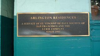Arlington Residences marker
