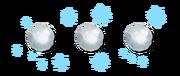 Ranged xmas15 snowballs