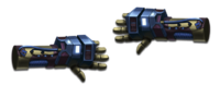 Weapon power fists