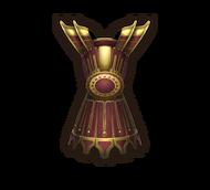 Armor red lotus
