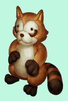 Raccoon friend