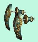 Warlock earrings