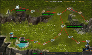SLO - Quest 33 - Hero of the Uruk-Hais - route map