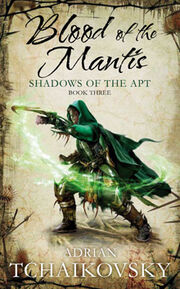 Blood of The Mantis Cover