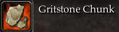 Gritstone Chunk