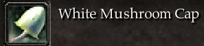 White Mushroom Cap