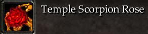 Temple Scorpion Rose