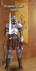 Khalarant guard janeis