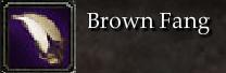 Brown Fang