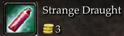Strange Draught