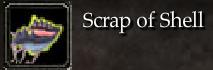 Scrap of Shell