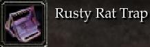 Rusty Rat Trap