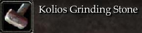 Kolios Grinding Stone