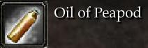 Oil of Peapod