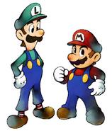 Mario and uigi