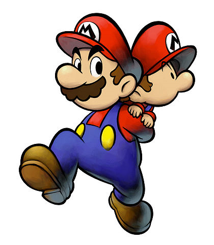 File:Mario and Baby Self.png