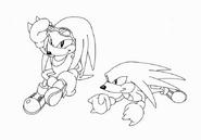Knuckles Concept Art