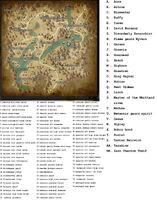 Monsters in Adeurian Spawn Map