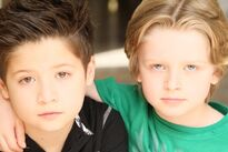 Davis & his brother