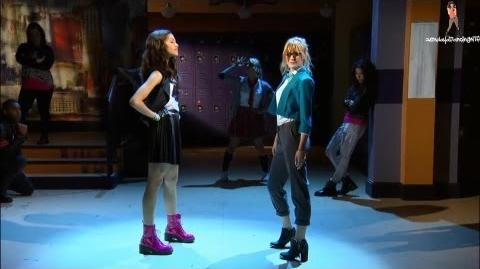Cece and rocky dance off